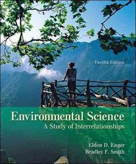 Environmental Science 12th edition 9780073383200 0073383201