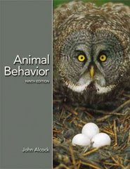 Animal Behavior 9th Edition 9780878932252 0878932259