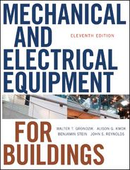 Mechanical and Electrical Equipment for Buildings 11th Edition 9780470195659 0470195657