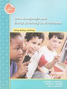 Oral Language and Early Literacy in Preschool 2nd edition 9780872076938 0872076938