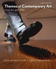 Themes of Contemporary Art: Visual Art after 1980 2nd Edition 9780195367577 019536757X
