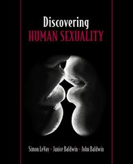 Discovering Human Sexuality 1st Edition 9780878934218 0878934219