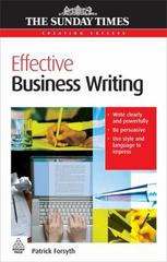 Effective Business Writing 0 9780749454531 0749454539
