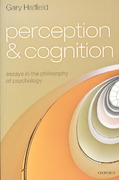 Perception and Cognition 1st edition 9780199228218 0199228213
