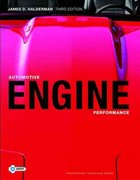 Automotive Engine Performance 3rd edition 9780135085042 0135085047