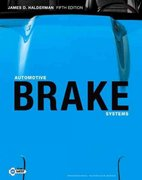 Automotive Brake Systems 5th edition 9780135079348 0135079349