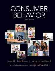 Consumer Behavior 10th Edition 9780135053010 0135053013