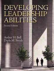 Developing Leadership Abilities 2nd Edition 9780137152780 0137152787