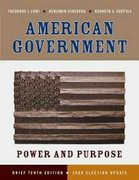 American Government 10th edition 9780393113846 0393113841