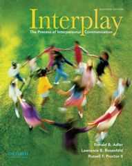 Interplay 11th edition 9780195379594 0195379594