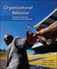 Organizational Behavior 1st Edition 9780078112553 0078112559