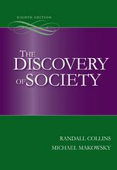 The Discovery of Society 8th edition 9780073404196 0073404195