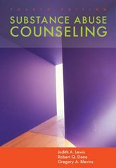 Substance Abuse Counseling 4th Edition 9780534628451 0534628451