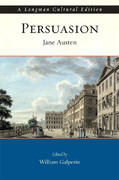 Persuasion, A Longman Cultural Edition 1st edition 9780321198228 0321198220