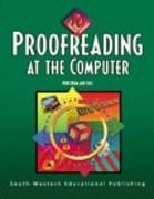 Proofreading at the Computer 1st edition 9780538689243 0538689242