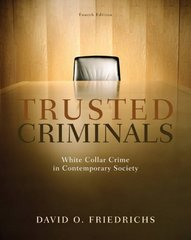 Trusted Criminals 4th Edition 9781111782870 1111782873