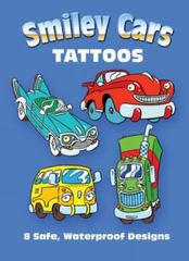 Smiley Cars Tattoos 0 9780486470375 0486470377