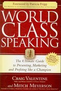 World Class Speaking 0 9781600374739 1600374735