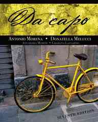 Da capo 7th Edition 9781111782764 1111782768
