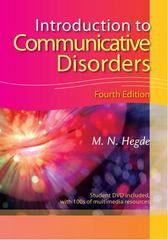 Introduction to Communicative Disorders 4th Edition 9781416404255 1416404252