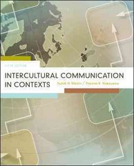 Intercultural Communication in Contexts 5th Edition 9780073385129 0073385123