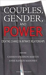 Couples, Gender, and Power 1st Edition 9780826115218 0826115217