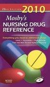 Mosby's 2010 Nursing Drug Reference 23rd edition 9780323066518 0323066518