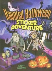 Haunted Halloween Sticker Adventure 0 9780486470221 0486470229