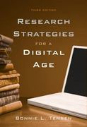 Research Strategies for a Digital Age 3rd edition 9781428231290 1428231293
