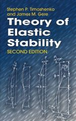 Theory of Elastic Stability 2nd edition 9780486472072 0486472078