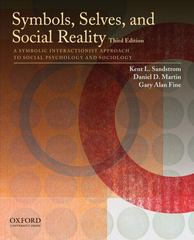 Symbols, Selves, and Social Reality 3rd Edition 9780195385663 0195385667