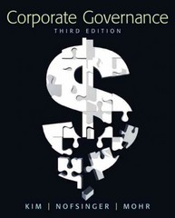 Corporate Governance 3rd edition 9780136096986 0136096980