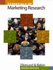 Essentials of Marketing Research (with Qualtrics Card) 4th edition 9781439047545 1439047545