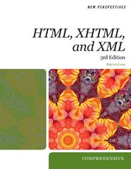 New Perspectives on Creating Web Pages with HTML, XHTML, and XML 3rd edition 9780495806400 0495806404