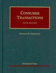 Consumer Transactions 5th edition 9781599413341 1599413345