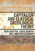 Capitalism and Classical Sociological Theory 0 9780802096814 0802096816