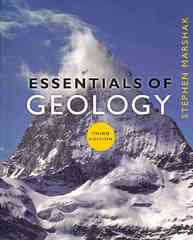 Essentials of Geology 3rd Edition 9780393932386 0393932389
