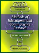 Methods of Educational and Social Science Research 3rd Edition 9781577665762 1577665767