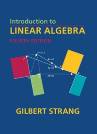 Introduction to Linear Algebra 4th edition 9780980232714 0980232716