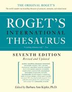 Roget's International Thesaurus 7th Edition 9780061715228 0061715220