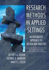Research Methods in Applied Settings 2nd Edition 9780805864342 0805864342