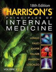 Harrison's Principles of Internal Medicine 18th Edition 9780071632447 0071632441