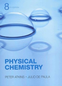 Physical Chemistry (8th) edition 9780716787594 0716787598