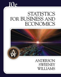 Statistics for Business and Economics (with CD-ROM) 10th edition 9780324360684 0324360681