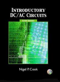 Introductory DC/AC Circuits (6th) edition 9780131140066 013114006X