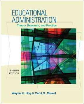 educational administration theory research and practice 9th edition pdf