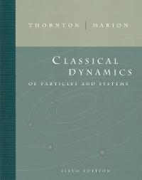 Marion Classical Mechanics Pdf