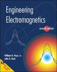 Engineering Electromagnetics with CD (7th) edition 0073104639 9780073104638