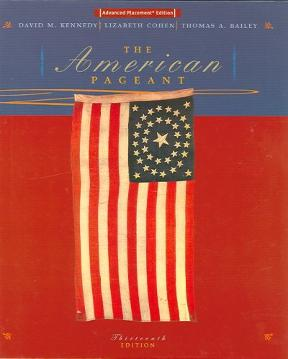 american pageant 13th edition Ussery, ryan home academic decathlon american pageant study guides  american pageant chapter 2 study guide comments (-1) american pageant chapter 3 study guide .