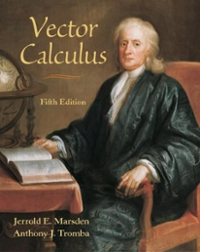 Vector Calculus 5th edition 9780716749929 0716749920